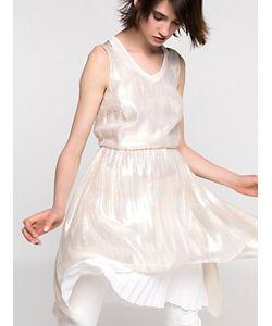 Patrizia Pepe | Платье Из Шелка И Люрекса