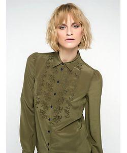 Patrizia Pepe | Рубашка С Длинным Рукавом Из Шелкового Крепдешина
