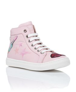 Philipp Plein | Hi-Top Sneakers Snake