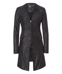 Philipp Plein | Leather Coat Acanthaster
