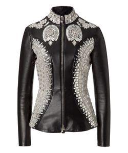 Philipp Plein | Leather Jacket Vogue