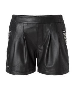 Philipp Plein | Hot Pants Leather Very Hot