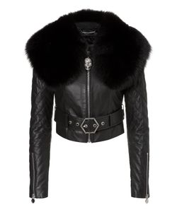 Philipp Plein | Leather Jacket Ary