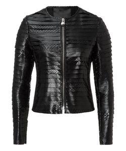 Philipp Plein | Leather Jacket Snake