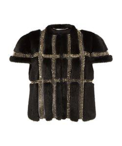 Philipp Plein   Fur Vest Cuoripoli