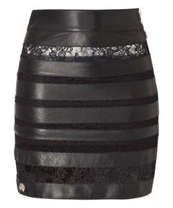 Philipp Plein | Leather Skirt Provocation