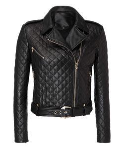 Philipp Plein   Leather Jacket Latch