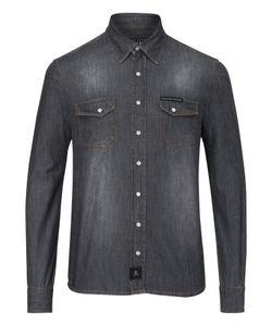 Philipp Plein | Denim Shirt Long Sleeves Laguna