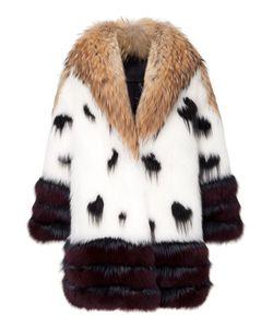 Philipp Plein | Fur Coat Golden Time