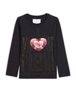 Philipp Plein   T-Shirt Long Sleeves Adore You