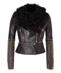 Philipp Plein | Leather Jacket Archetyp