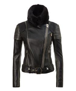 Philipp Plein | Leather Jacket Jacksonville