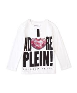 Philipp Plein | T-Shirt Long Sleeves Adore You