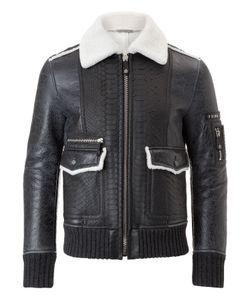 Philipp Plein | Leather Jacket Animalistic