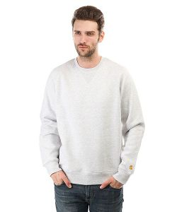 Carhartt | Толстовка Свитшот Chase Sweatshirt Ash Heather/