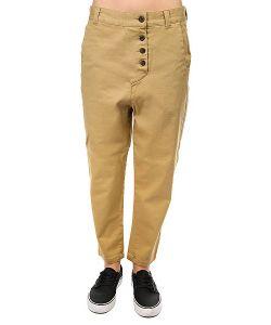 Colour Wear | Штаны Прямые Overlap Pant Camel
