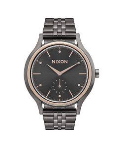 Nixon | Кварцевые Часы Sala Gunmetal/