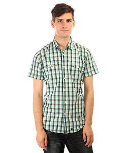 Globe | Рубашка В Клетку Attfield Short Sleeve Shirt Aqua