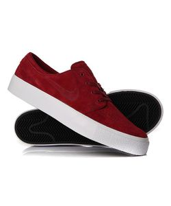 Nike | Кеды Кроссовки Низкие Zoom Stefan Janoski Prem Ht Team Red