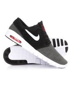 Nike | Кеды Кроссовки Низкие Stefan Janoski Max L Anthracite/Pure Platinum