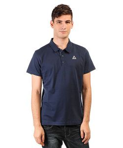 Le Coq Sportif | Поло Geo Jacquard Dress Blues