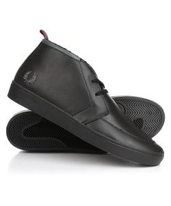 Fred Perry | Кеды Кроссовки Утепленные Shields Mid Leather/Shearling Lining