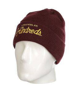 The Hundreds | Шапка Team Beanie Burgundy