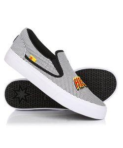 Dcshoes | Слипоны Dc Trase Slip-On X Black/White