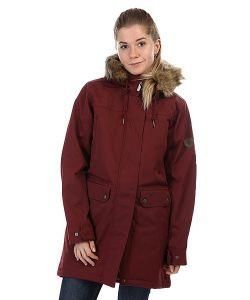 Billabong   Куртка Парка Женская Petra Mystic Maroon