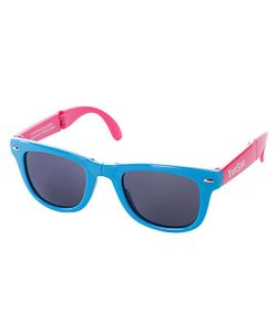 Truespin | Очки True Spin Folding Sunglasses Blue/Pink
