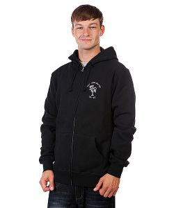 Huf | Толстовка Black Wartini Zip Hood Black