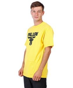 Fallen | Футболка Insignia Logo Yellow/Mid Blue