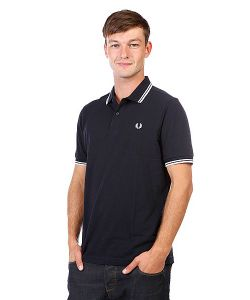 Fred Perry | Поло Slim Fit Twin Tipped Shirt Navy