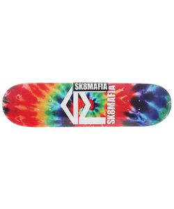 Sk8Mafia   Дека Для Скейтборда Для Скейтборда House Logo 2 Tie Dye