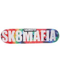 Sk8Mafia   Дека Для Скейтборда Для Скейтборда Og Logo Tye Dye 31.75