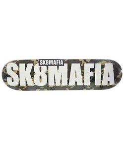 Sk8Mafia   Дека Для Скейтборда Для Скейтборда Og Logo 2 Camo 32.12