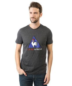 Le Coq Sportif | Футболка Pop Sportif Tee N2 Dark Heather