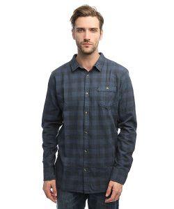 Rip Curl | Рубашка В Клетку Check It Ls Shirt Mood Indigo