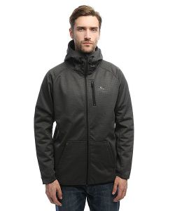 Rip Curl | Толстовка Классическая Bonded Zt Hooded Charcoal Marle