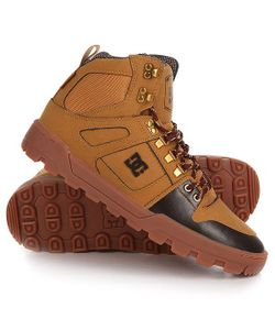 Dcshoes | Ботинки Высокие Dc Spartan High Wr Boot Wheat/Turkish Coffee