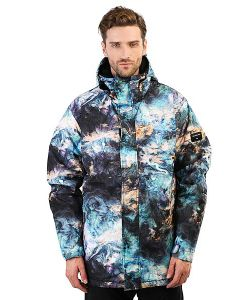 Quiksilver | Куртка Mission Print Oil And Space