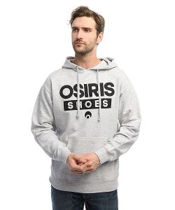 Osiris | Толстовка Кенгуру Fleece Hood Legacy Heather