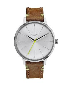 Nixon | Кварцевые Часы Kensington Leather Lime