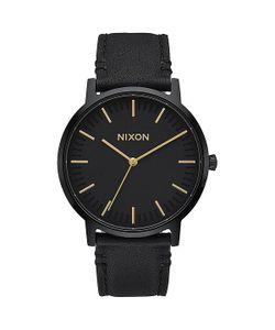 Nixon | Кварцевые Часы Porter Leather All