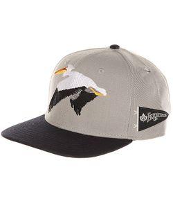 K1X   Бейсболка С Прямым Козырьком Pelican Strapback Cap Light