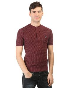 Fred Perry | Поло Knitted Button Neck