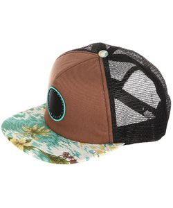 Globe | Бейсболка С Сеткой Floreana Cap Brow/Hawaiian