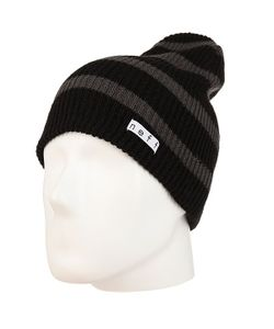 Neff | Шапка Носок Daily Stripe Beanie Charcoal