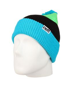 Neff | Шапка Snappy Beanie Cyan/Slime