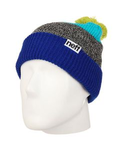 Neff | Шапка Snappy Beanie Royal/Heather/Teal